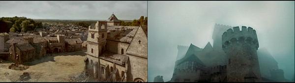 W CIENIU KATEDRY zamek i kinsgbridge